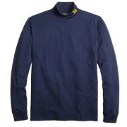 Brooks Brothers University of Michigan Navy Supima Cotton Turtleneck