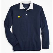 Brooks Brothers University of Michigan Navy Rugby Shirt