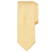 Brooks Brothers Yellow Split Circle Tie