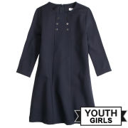 Brooks Brothers Fleece Youth Girls Navy Ponte Dress