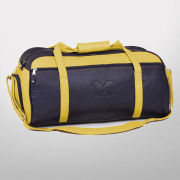 Canyon Outback University of Michigan Navy/ Yellow Leather Duffle Bag