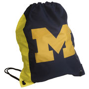 Carolina Sewn University of Michigan Two-Tone String Bag