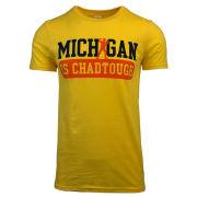 #ChadTough Foundation University of Michigan Basketball ''Michigan is #ChadTough'' Yellow Tee