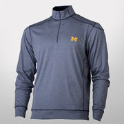Cutter & Buck University of Michigan Green Lake Half Zip Pullover Jacket