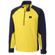 Cutter & Buck University of Michigan Summit 1/2 Zip Pullover Jacket