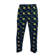 College Concepts University of Michigan Men's Navy Prospect Sleep Pant