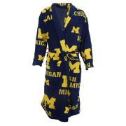 College Concepts University of Michigan Ramble Microfleece Robe