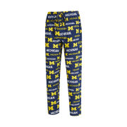 College Concepts University of Michigan All-Over Print Sleep Pant