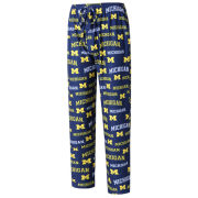 College Concepts University of Michigan ''Fairway'' All-Over Print Lounge Pant