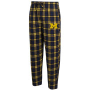 College Concepts University of Michigan Parkway Plaid Flannel Sleep Pants