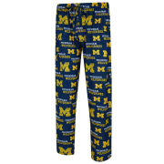 College Concepts University of Michigan Navy ''Zest'' All-Over Print Lounge Pant