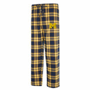 College Concepts University of Michigan Takeaway Plaid Flannel Sleep Pants
