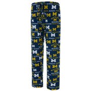 College Concepts University of Michigan Flagship All Over Print Lounge Pant