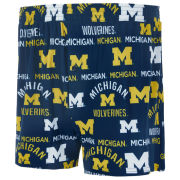 College Concepts University of Michigan Flagship All Over Print Boxer Shorts