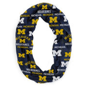 College Concepts University of Michigan Navy Flagship Infinity Scarf