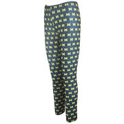 College Concepts University of Michigan Ladies Comeback All-Over Print Leggings