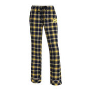 College Concepts University of Michigan Ladies Captivate Flannel Sleep Pant