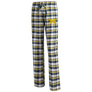 College Concepts University of Michigan Women's Peidmont Plaid Flannel Sleep Pant
