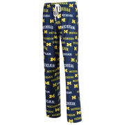 College Concepts University of Michigan Women's ''Fairway'' All-Over Print Lounge Pant