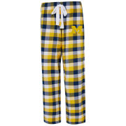 College Concepts University of Michigan Women's Breakout Plaid Flannel Sleep Pant