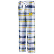 College Concepts University of Michigan Women's Accolade Plaid Flannel Pant