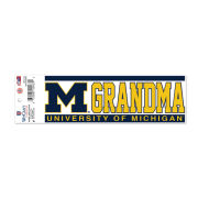 WinCraft University of Michigan Grandma Decal [Inside Application]