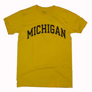 Champion University of Michigan Yellow Basic Tee