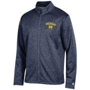 Champion University of Michigan Heather Navy ''Fury'' Softshell Jacket