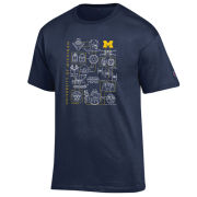 Champion University of Michigan x Star Wars ''A New Hope'' Navy Tee
