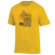 Champion University of Michigan x Star Wars ''Dark Side'' Yellow Tee