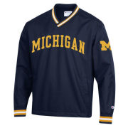 Champion University of Michigan Navy Pullover ''Scout'' Jacket