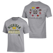 Champion University of Michigan Baseball College World Series Tee