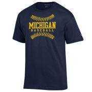 Champion University of Michigan Baseball Navy Tee