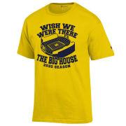 Champion University of Michigan Football ''Wish We Were There'' Tee