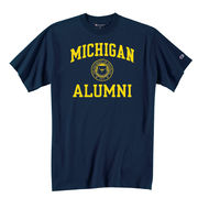 Champion University of Michigan Alumni Navy Seal Tee
