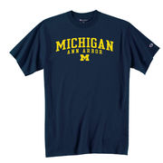 Champion University of Michigan Navy Ann Arbor Tee