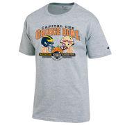 Champion University of Michigan Football Orange Bowl Gray Two-Team Tee
