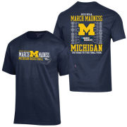 Champion University of Michigan Basketball March Madness Bracket Tee