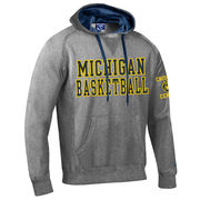 Champion University of Michigan Basketball Granite Heritage Hooded Sweatshirt