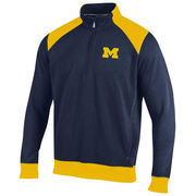 Champion University of Michigan Navy Heritage 1/4 Zip Pullover Sweatshirt