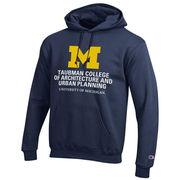 Champion University of Michigan Taubman College of Architecture Navy Hood