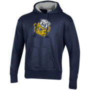 Champion University of Michigan Navy Rochester Fleece College Vault Wolverine Hooded Sweatshirt