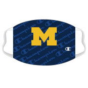 Champion University of Michigan Navy Co-Brand UltraFuse Face Cover