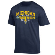 Champion University of Michigan Hockey Frozen Four Navy Tee