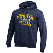 Champion University of Michigan Hockey Frozen Four Navy Hooded Sweatshirt