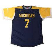 Champion University of Michigan Soccer Replica Navy Jersey