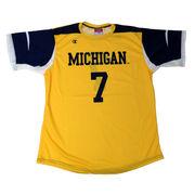 Champion University of Michigan Soccer Replica Yellow Jersey