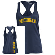 Champion University of Michigan Women's Navy Swing Tank Top