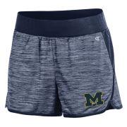 Champion University of Michigan Women's Navy Infinity Shorts