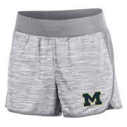 Champion University of Michigan Women's Gray Infinity Shorts